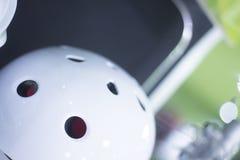 Встроенный шлем коньков ролика Стоковые Изображения RF