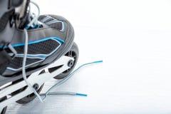Встроенный Rollerblade конька стоковые фотографии rf