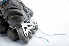 Встроенный Rollerblade конька стоковая фотография