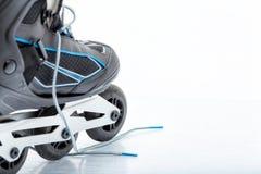 Встроенный Rollerblade конька стоковое изображение