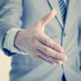 Встряхивание руки Стоковое Изображение