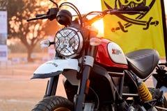 Встряхиватель Индия Ducati стоковое изображение