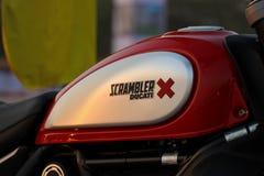 Встряхиватель Индия Ducati стоковые изображения rf