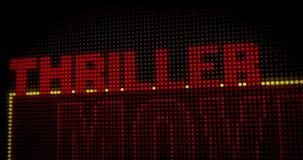 Вступление ночи кино триллера иллюстрация вектора