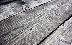 всходит на борт старое деревянного Стоковая Фотография