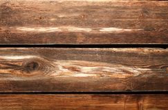 всходит на борт старой текстуры деревянной Стоковое Изображение RF