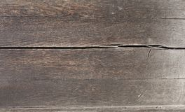 всходит на борт старой текстуры деревянной Стоковая Фотография