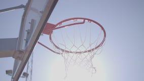 Всход банка баскетбола видеоматериал