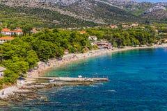 Orebic, Хорватия стоковое фото rf