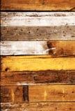всходит на борт старой текстуры деревянной Стоковые Фотографии RF