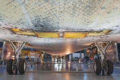 Всход нижней части тела открытия космического летательного аппарата многоразового использования бортовой от дна Стоковые Фото
