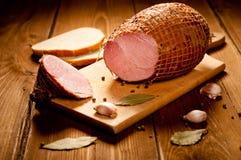 Вся ветчина с хлебом Стоковая Фотография RF