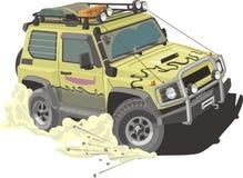 вся дорога автомобиля иллюстрация вектора