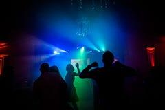 вся партия ночи Стоковая Фотография RF