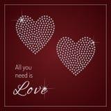 вся потребность влюбленности вы Стоковые Фотографии RF
