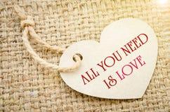 вся потребность влюбленности вы Стоковое Изображение