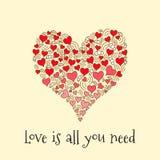вся потребность влюбленности вы Стоковое Изображение RF