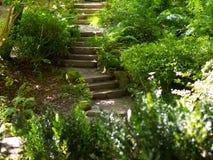 втихомолку stairway Стоковое Фото