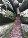 втихомолку stairway Стоковая Фотография RF