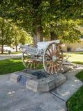 Вторая Мировая Война мемориала Modesto взгляда со стороны Стоковая Фотография RF