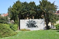 Вторая Мировая Война памятника Стоковое Фото