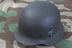 Вторая Мировая Война шлема немецкой армии Стоковые Фотографии RF