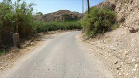 Вторичная дорога между Gador и Санта-Фе de Mondujar акции видеоматериалы