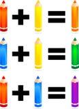 вторичное цветов первичное Стоковое фото RF