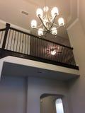 Второй этаж видело от входа нового дома Стоковая Фотография RF