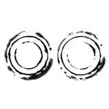 Втройне штемпель кругов Стоковое фото RF
