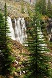 7 вуалируют падения, озеро O'Hara, национальный парк Yoho, Канаду стоковые изображения