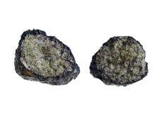 Вулканические бомба/Olivine. Начало: Lanzarote Стоковые Фотографии RF