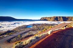 Вулканический ландшафт Стоковая Фотография