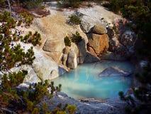 Вулканический национальный парк Йеллоустона ландшафта, Вайоминг Стоковая Фотография