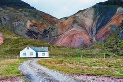Вулканический shimmer горы стоковое изображение rf