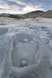 вулканы Румынии грязи buzau стоковое фото rf