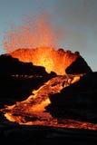 вулкан извержения Стоковая Фотография RF