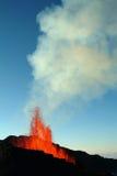 вулкан извержения Стоковое Изображение RF