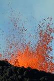 вулкан извержения Стоковые Изображения RF