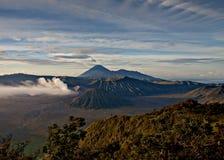 вулкан Индонесии стоковое изображение rf
