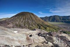 вулкан Индонесии стоковое изображение