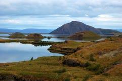 вулкан Исландии Стоковые Фотографии RF