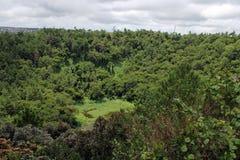 Вулкан пропилов Trou вспомогательный, северный остров, Маврикий стоковое фото rf