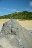 вулкан Румынии грязи образования buzau Стоковая Фотография RF