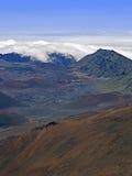 вулкан саммита haleakala Стоковое Изображение RF