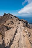Вулкан Сан Антонио в острове Palma Ла, Канарских островах Стоковые Фото