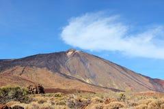 Вулкан Тенерифе Стоковое Изображение RF