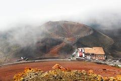 Вулкан Этна, Сицилия, Италия Стоковое Фото
