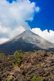 вулкан arenal Стоковое Фото