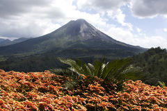 вулкан arenal i Стоковые Изображения